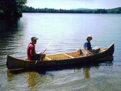 Handmade Crafted Wooden Canoes For Sale Coos Canoe Snowshoe