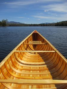 Handmade Crafted Wooden Canoes For Sale